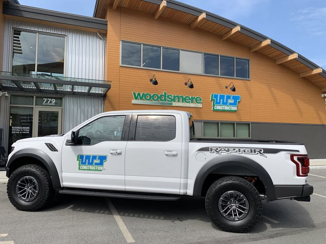 W&J Construction - Pick up truck