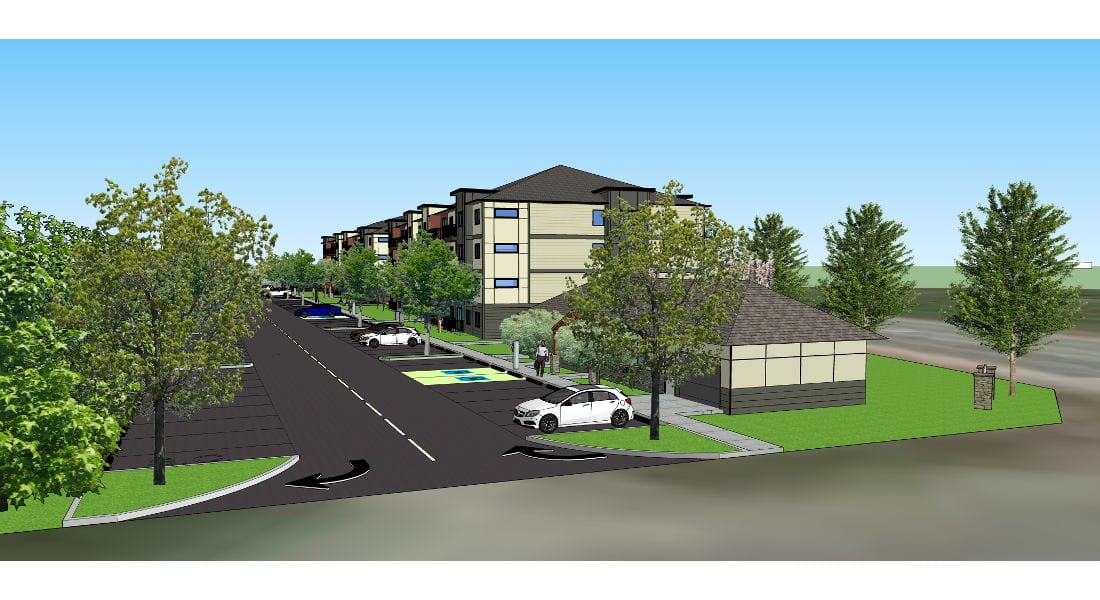Courtenay BC Apartments - Elevations